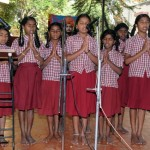 Prayer by Nivedita Vidya Peetha Students