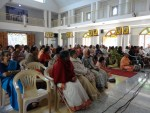 Devotees gathered on Swami Vivekananda's birthday - January 2015