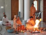 Homa on the occasion of Swami Vivekananda's Birthday - January 2015
