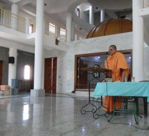 Lecture by Rev. Atandraprana Mataji
