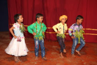 Dance By Nursery School Children