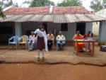 Speech by the prize winner at high school level at Kabbigere village in Tumkur Dt.